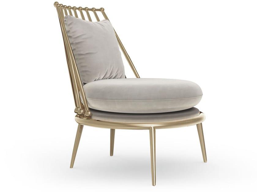 Metal armchair AURORA   Metal armchair by Cantori