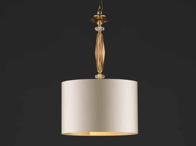 Lampada a sospensione in cristallo con cristalli swarovski® aurora