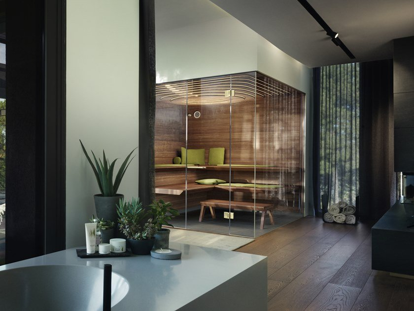 Aurora Sauna For Your Home Collection By Klafs