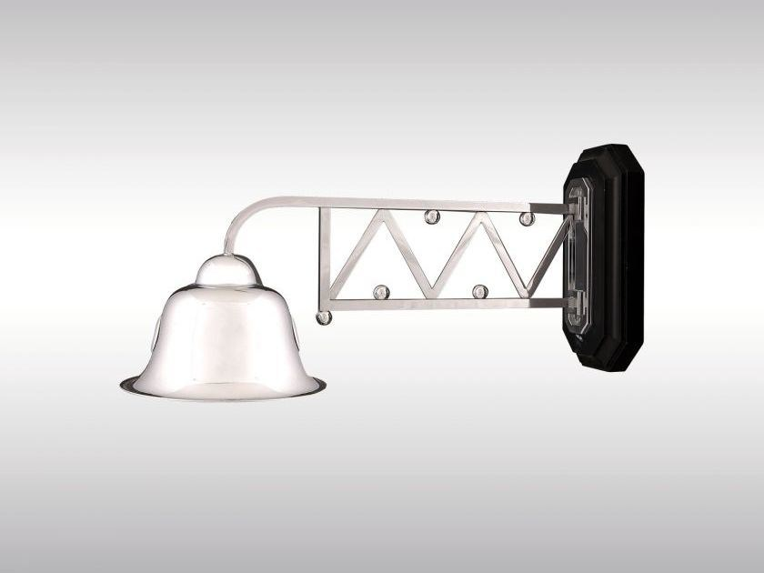 Classic style wall lamp AUSSENLEUCHTE PURKERSDORF by Woka Lamps Vienna