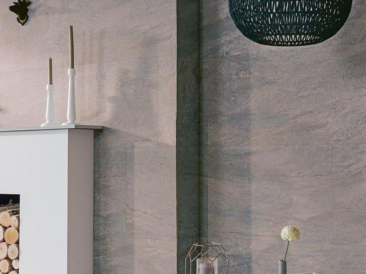 Revêtement de sol/mur effet pierre AUSTIN DARK GRAY by Venis