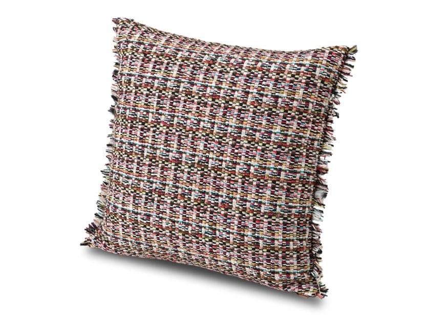 Cuscino in tessuto jacquard lana-cotone effetto tweed AUSTIN | Cuscino by MissoniHome