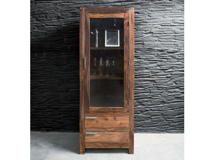 Wooden display cabinet AUTHENTICO | Display cabinet by KARE-DESIGN