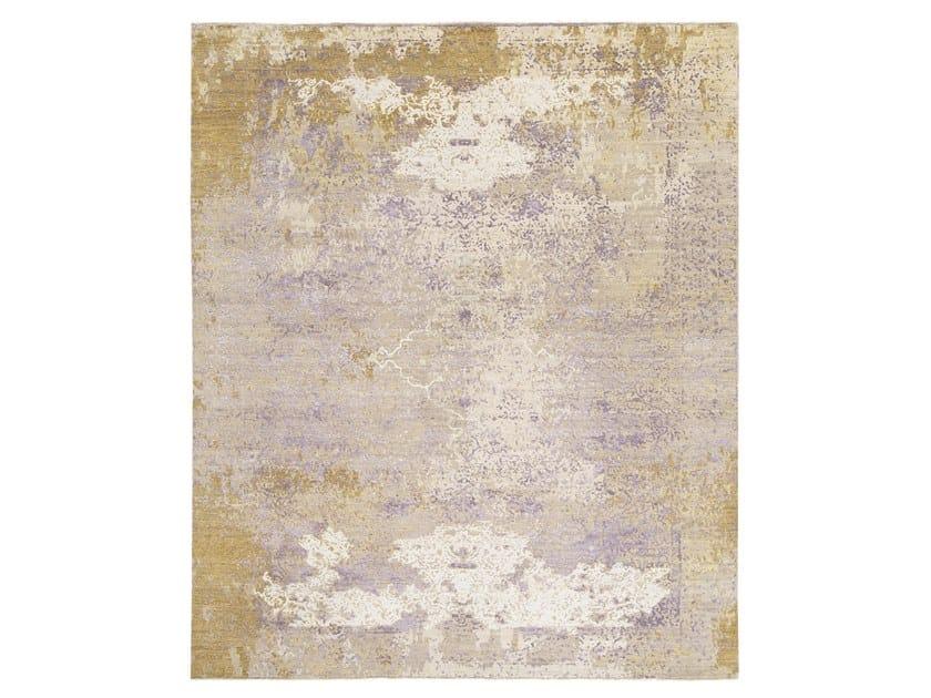 Handmade custom rug AUTUMN GOLD by Thibault Van Renne