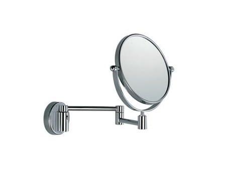 Specchio ingranditore rotondo a parete AV058C-D   Specchio ingranditore by INDA®