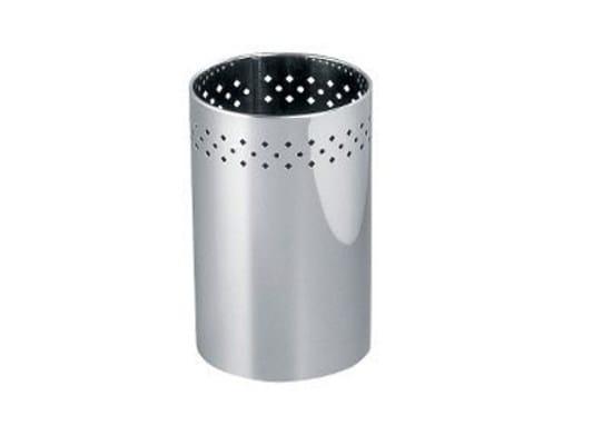 Metal Public bathroom waste bin AV4010 | Public bathroom waste bin by INDA®