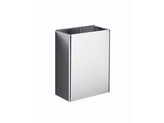 Wall-mounted metal Public bathroom waste bin AV401D | Public bathroom waste bin by INDA®