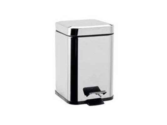 Public bathroom waste bin AV402A-B | Public bathroom waste bin by INDA®