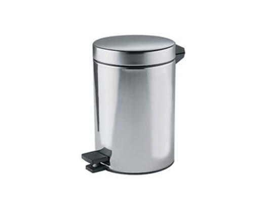 Metal Public bathroom waste bin AV602A-B A04025-3 | Public bathroom waste bin by INDA®