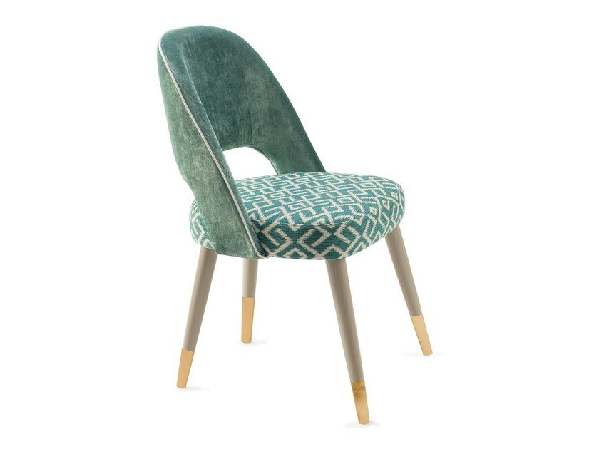 Upholstered fabric chair AVA   Fabric chair by Mambo Unlimited Ideas
