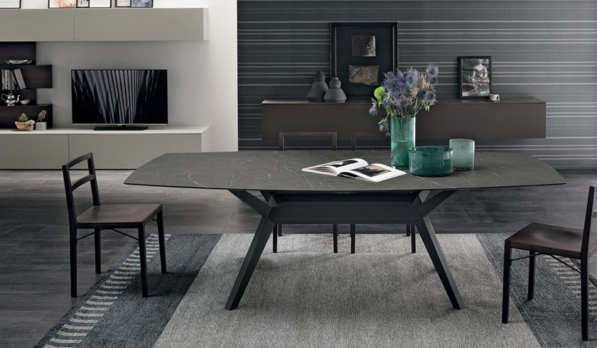 Rectangular HPL table AVALON | HPL table by Gruppo Tomasella
