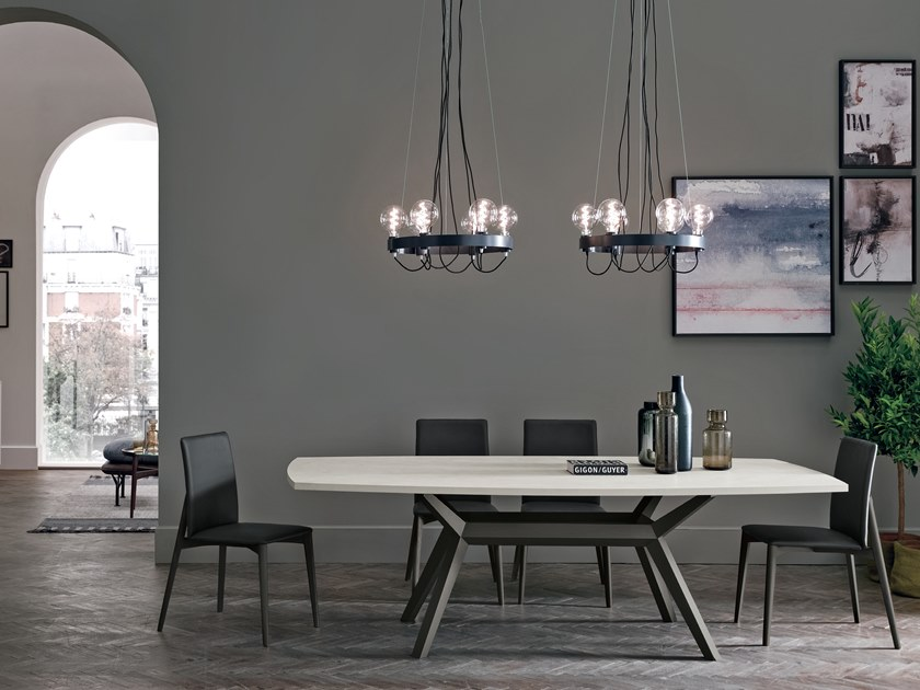 Rectangular table AVALON | Table by Gruppo Tomasella