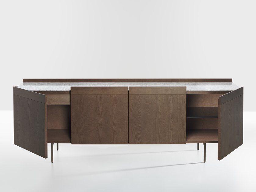 Ash sideboard with doors AVANT | Sideboard with doors by Potocco