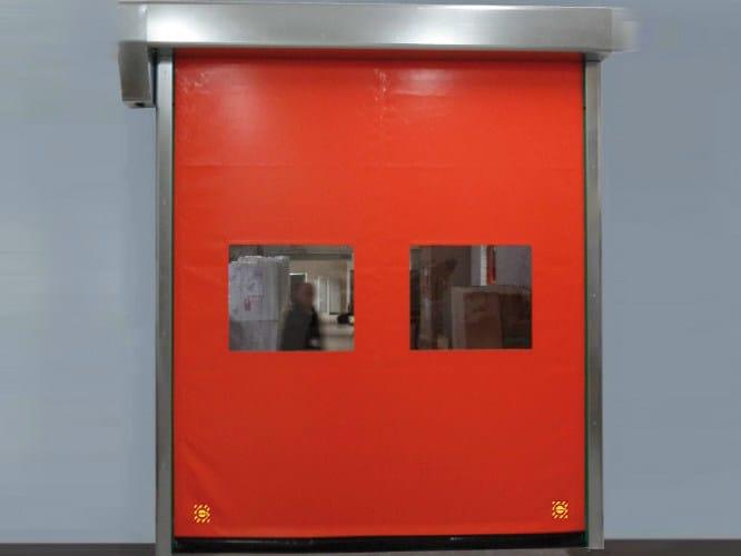 Rapid vertical roll-up door AVANTGARDE by CAMPISA