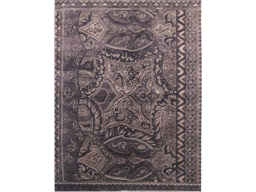 Handmade rectangular rug AVANTGARDE 1 by EBRU