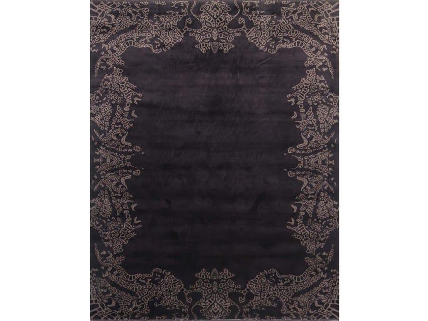 Handmade rectangular rug AVANTGARDE 4 by EBRU