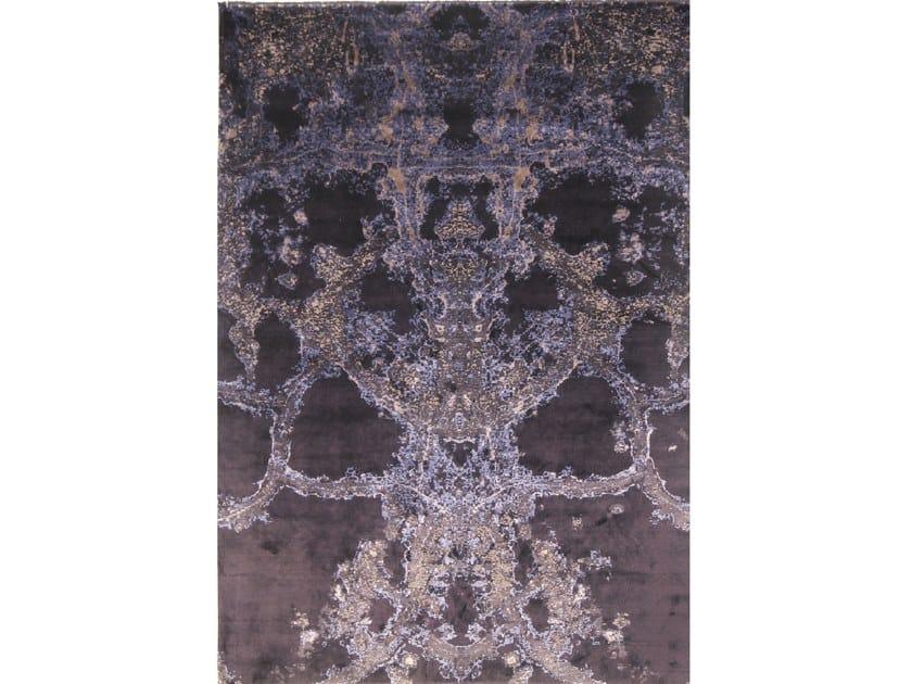 Handmade rectangular rug AVANTGARDE 7 by EBRU