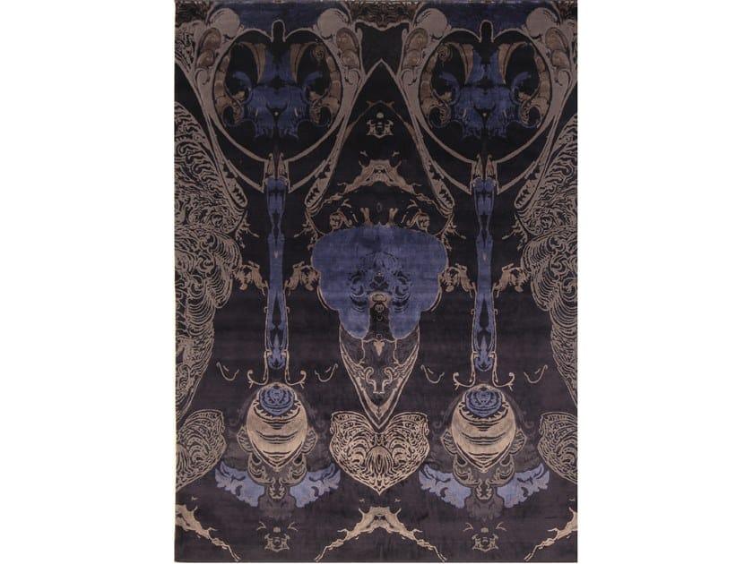 Handmade rectangular rug AVANTGARDE 8 by EBRU