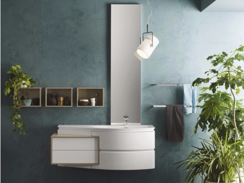 Sectional bathroom cabinet AVANTGARDE - Composition 2 by INDA®