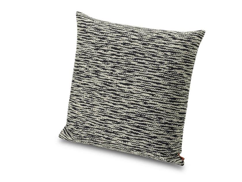 Cuscino in tessuto jacquard flame retardant effetto chiné AVARUA | Cuscino by MissoniHome