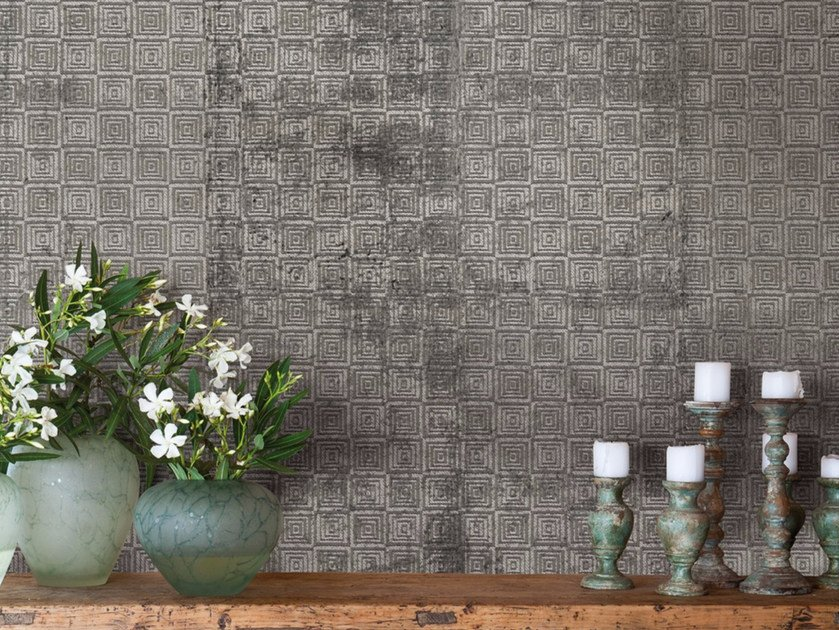 Motif panoramic wallpaper AVENUE CANESTRO by Inkiostro Bianco