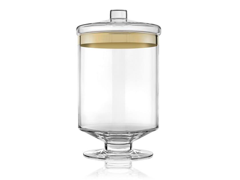 Contenitore per alimenti in vetro AVENUE GOLD 30,5CM | Contenitore per alimenti by IVV