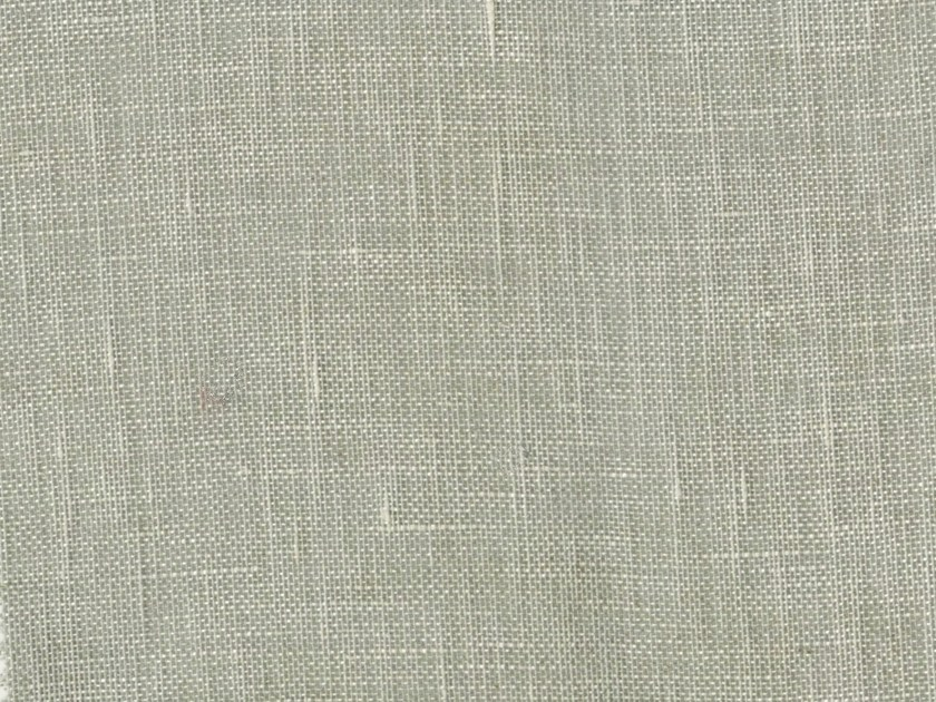 Solid-color linen fabric AVRIL by KOHRO