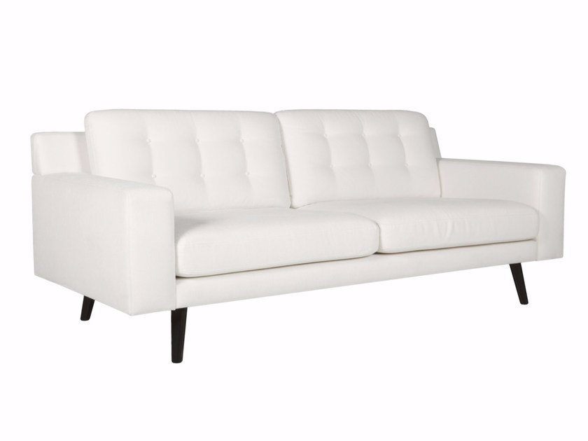 Upholstered 3 seater fabric sofa AXEL   3 seater sofa by SITS