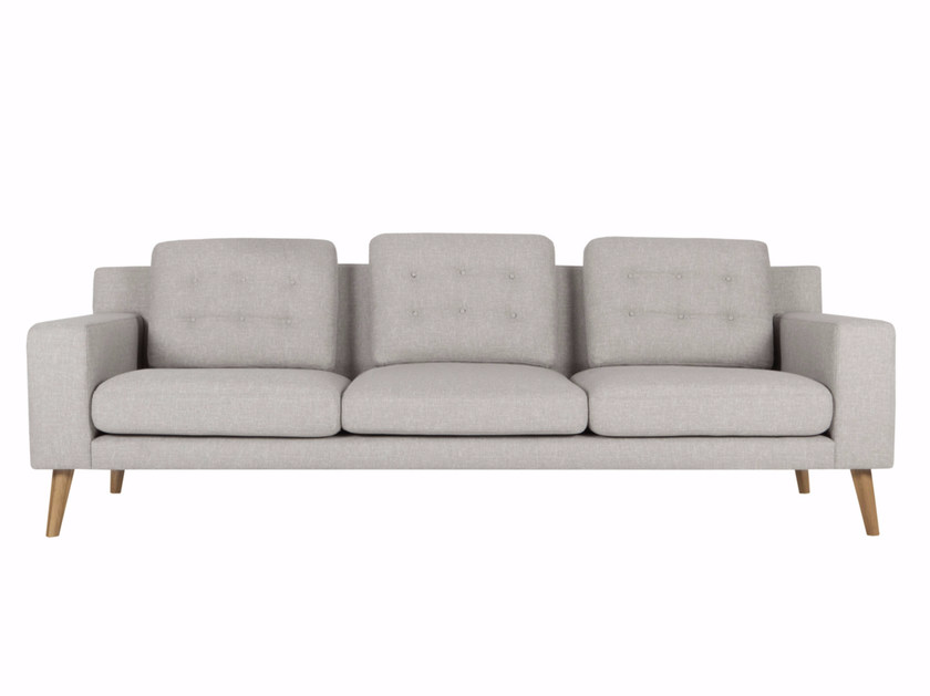 Upholstered 4 seater fabric sofa AXEL | 4 seater sofa by SITS