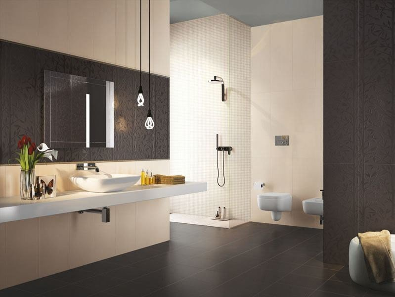 Double-fired ceramic wall tiles AXEL VANIGLIA by AVA Ceramica