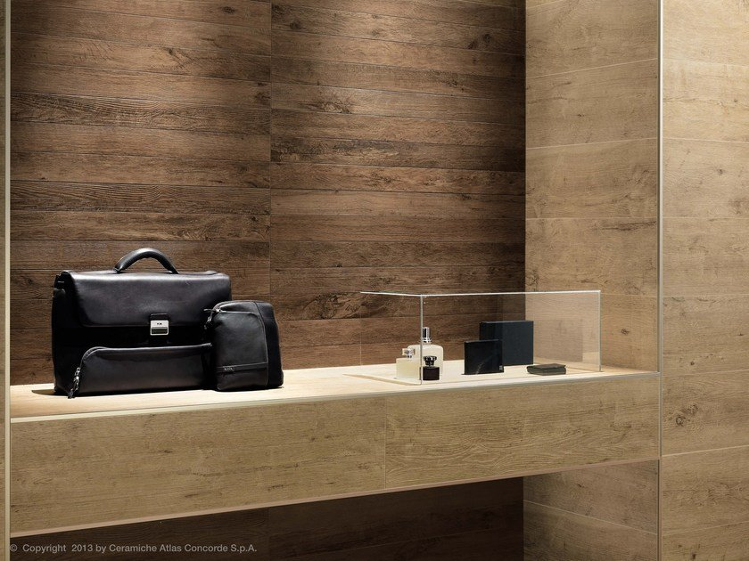 Porcelain stoneware wall tiles with wood effect AXI   Porcelain stoneware wall tiles by Atlas Concorde