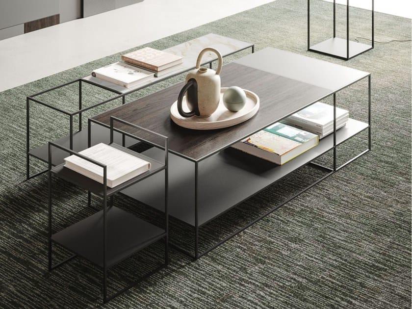 Tavolino modulare in metallo AXIS by Ronda Design