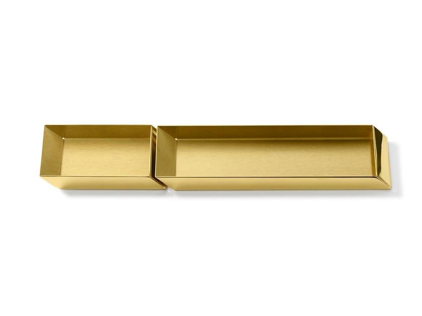 Portapenne in ottone AXONOMETRY | Portapenne in ottone by GHIDINI1961