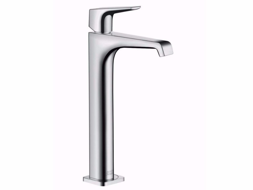 Chrome-plated countertop single handle washbasin mixer AXOR CITTERIO E - 280 MM | Washbasin mixer by hansgrohe