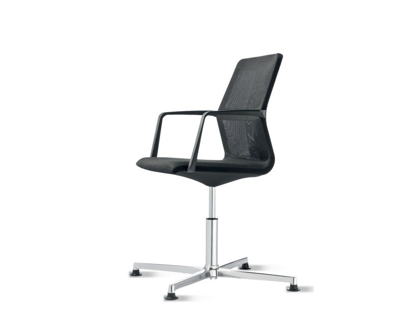 Swivel task chair with 4-Spoke base with armrests AYO | Task chair with 4-Spoke base by Wiesner-Hager