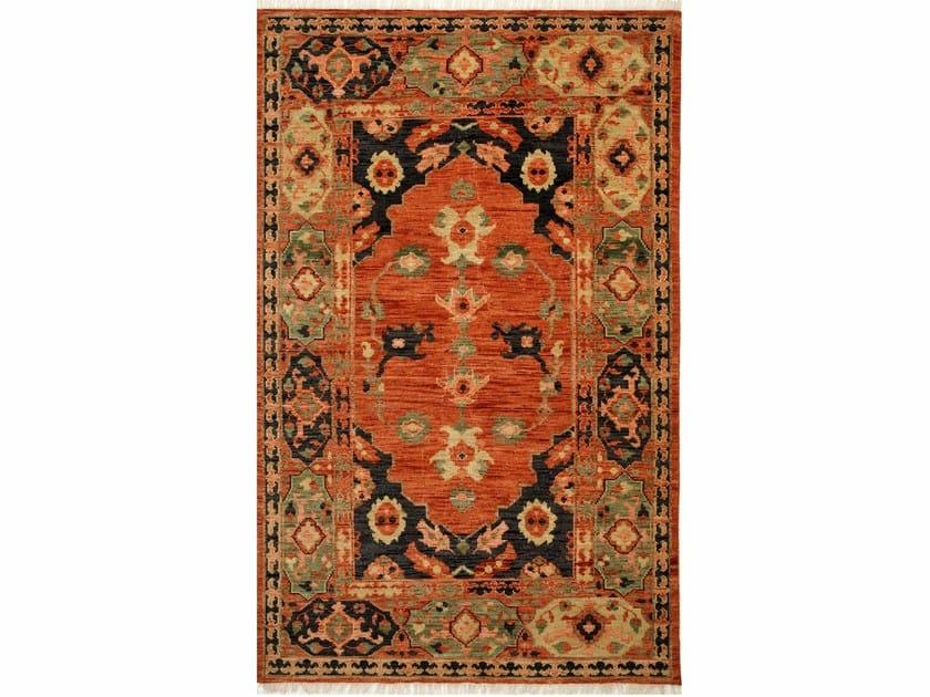 Wool rug AZRA LCA-2352 Russet/Black olive by Jaipur Rugs