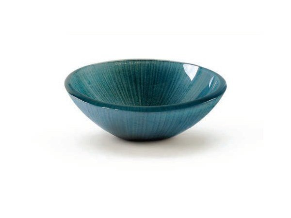Glass serving bowl BOWL AZUL by Gardeco