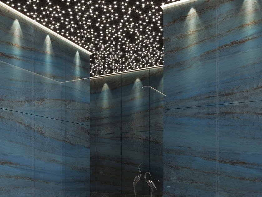Resin Decorative panel AZUL by Tecnografica