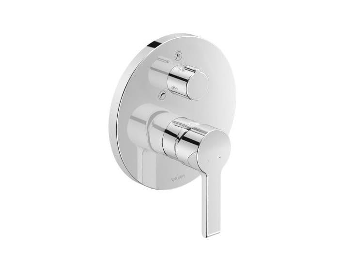 Recessed single handle bathtub mixer B.2   Recessed bathtub mixer by Duravit