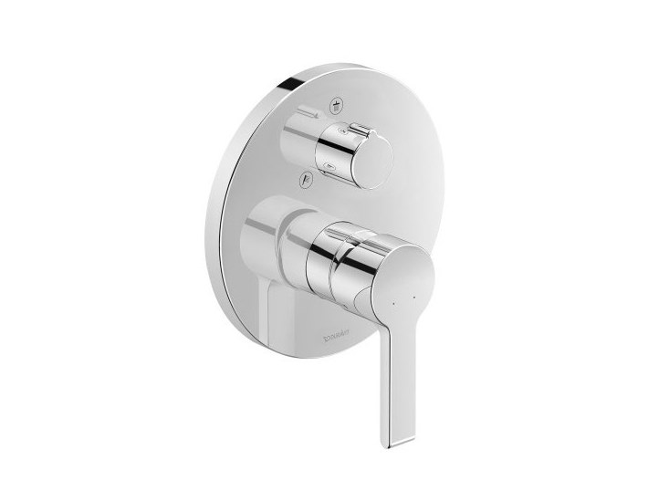 Recessed shower mixer with diverter B.2 | Shower mixer with diverter by Duravit