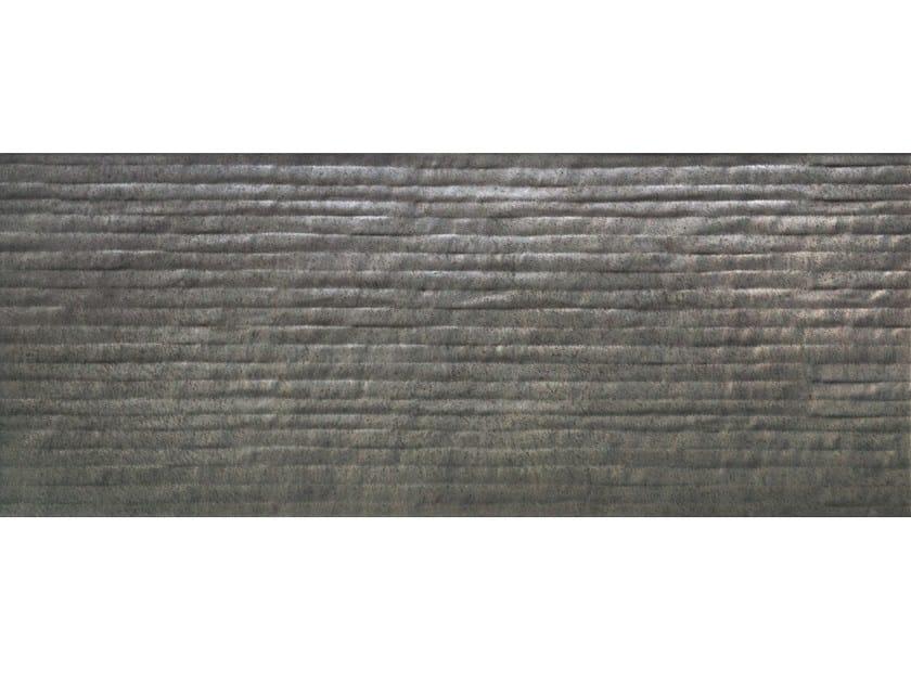 Rivestimento in ceramica bicottura B-CONCRETE LINER IRON by CERAMICHE BRENNERO