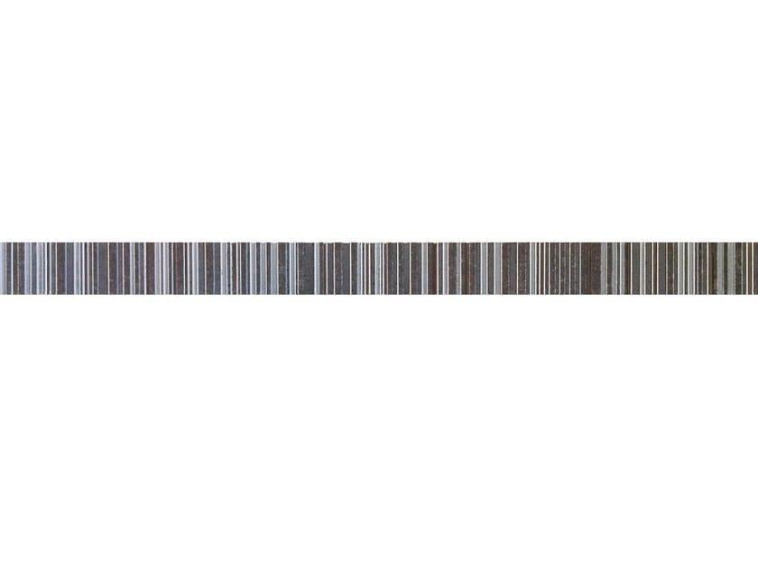 Red-paste wall tiles B-CONCRETE LISTELLO IRON by CERAMICHE BRENNERO