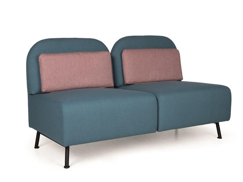 Modular fabric sofa B-CONNECT MP210 by Fenabel