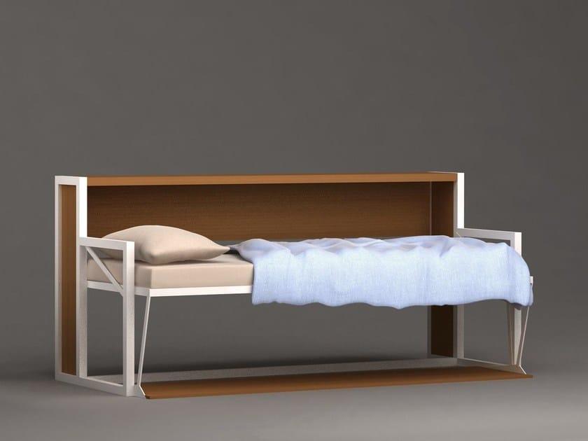 Convertible single bed B-ESK by Mobilspazio