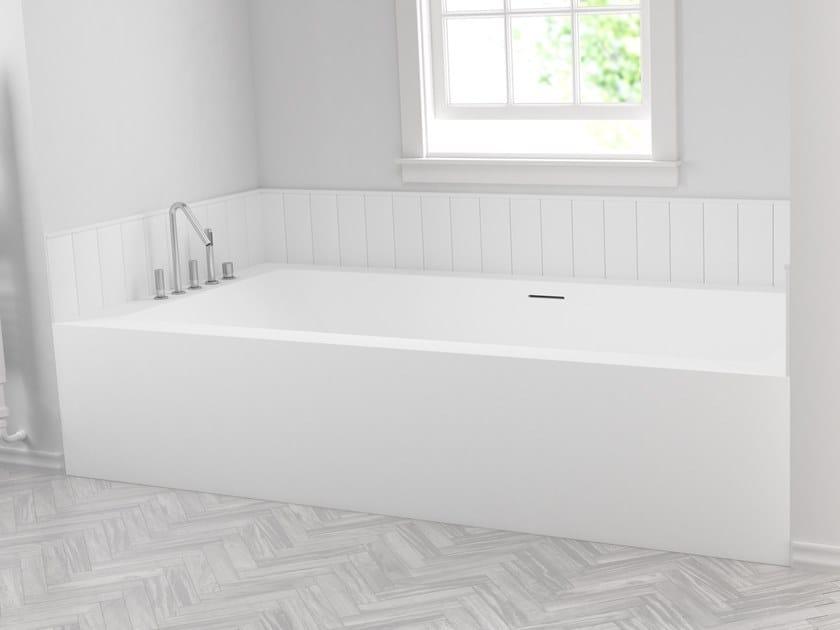 e62c02d6b530 Vasca da bagno in Corian® da incasso su misura B-FLAT   Vasca da ...