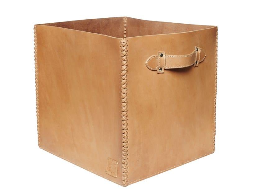 Leather storage box 389 | Storage box by FROHSINN