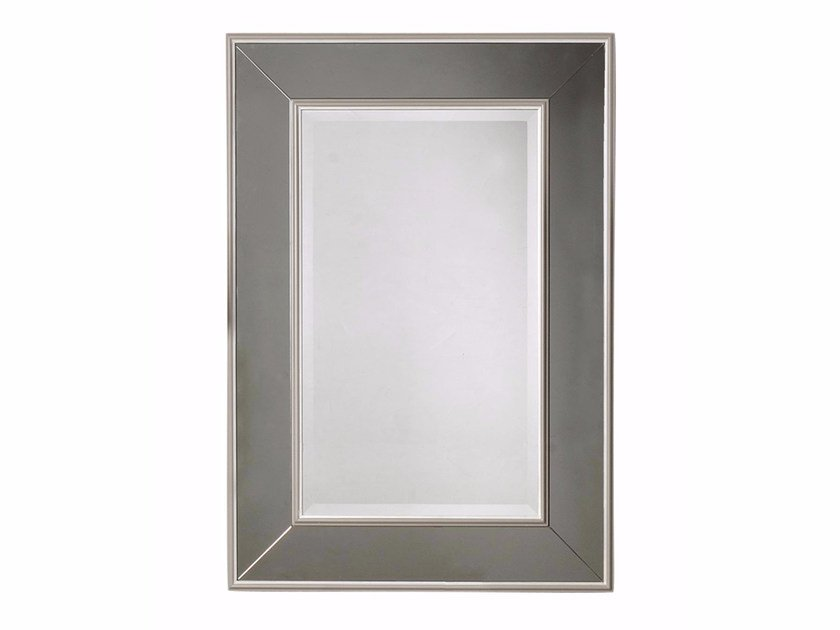 Rectangular wall-mounted framed mirror BYRON | Mirror by GENTRY HOME