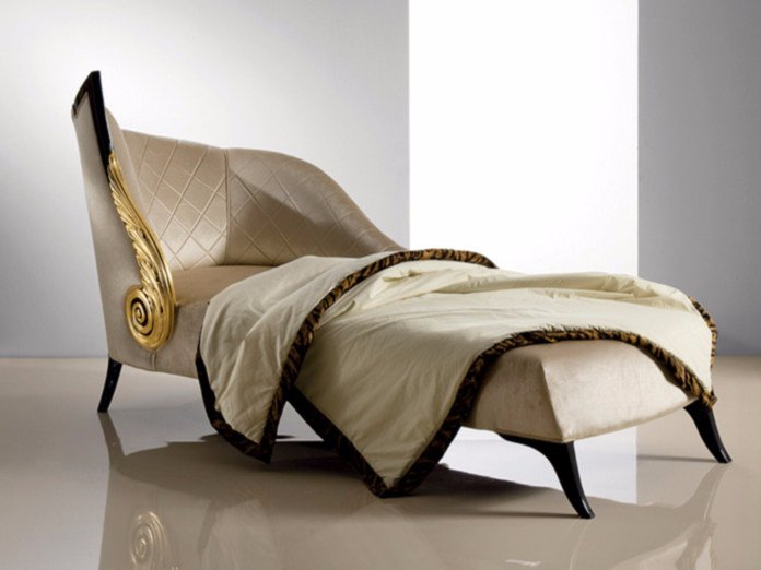 Upholstered fabric day bed B111 | Day bed by Rozzoni