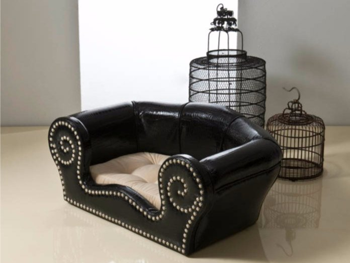 Imitation leather dogbasket FIDO by Rozzoni
