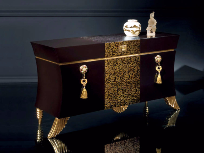 Lacquered sideboard with doors B116 | Sideboard by Rozzoni